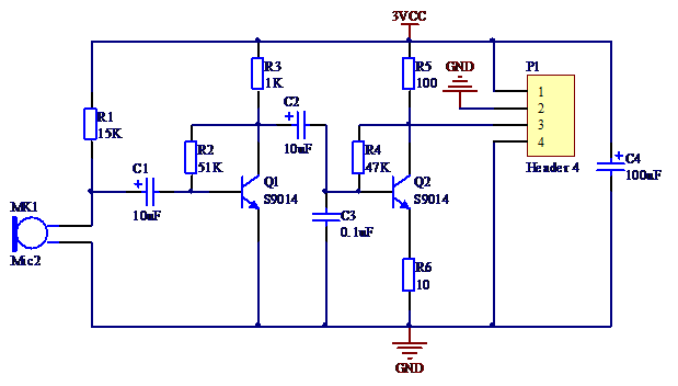 audio signal acquisition SCH